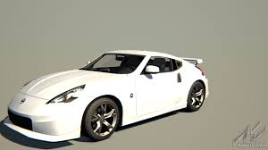 white nissan car nissan 370z nismo nissan car detail assetto corsa database
