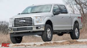 2014 2018 ford f 150 3 inch bolt on suspension lift kit by rough