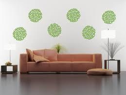 polka dots shapes tweetheartwallart floral bloom wall decal set