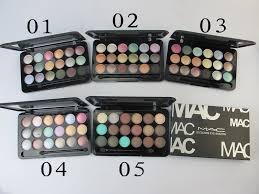 lastest mac eye shadow 18 colors 5 sets