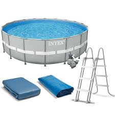 Intex Metal Frame Swimming Pools Amazon Com Intex 20 U0027 X 52