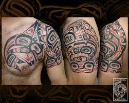haida designs polynesian tattoo and art haida shoulder and