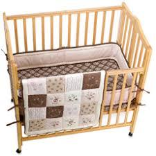 Small Crib Bedding Line 3 Portable Crib Bedding Set
