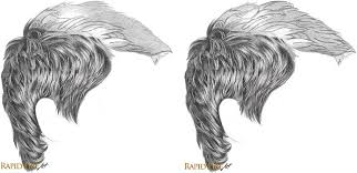 sketches of hair how to draw short hair very detailed rapidfireart