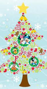 ミッキーの仲間たちのクリスマスツリーmickey mouse christmas tree