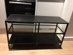 used ikea table tv stand metal u0026 glass vittsjo in wc2h london
