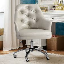 Fabric Covered Desk Chairs Best 25 Tufted Desk Chair Ideas On Pinterest Office Desk Chairs