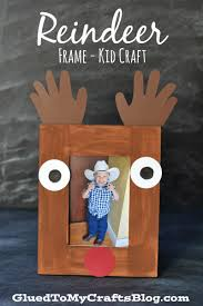 reindeer frame kid craft more teacher ideas