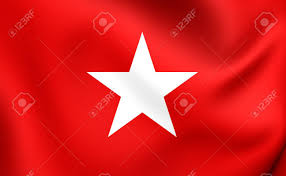 Flag Of Netherlands Flag Of Maastricht Netherlands Close Up Stock Photo Picture