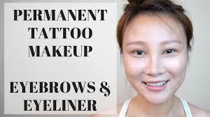 eyeliner tattoo pain level permanent makeup tattoo eyebrow eyeliner experience procedure