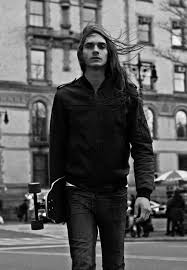 skater boy 3 long hair is attractive h o t pinterest