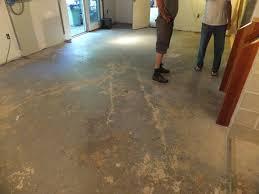 New Basement Floor - chic ideas flooring for concrete basement floor new garage