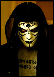 gothic mask by saurin369 on deviantart