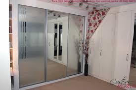 Stanley Mirrored Closet Doors Bathroom Mirror Sliding Closet Doors Prices Mirrored Lowes For