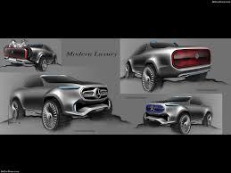 mercedes benz x class pickup concept 2016 pictures