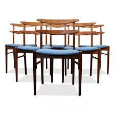 danish design kitchen set of 6 danish design teak dining chairs 1960s 67102
