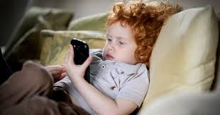 Baby On Phone Meme - children reveal hidden sadness of parents spending too much time