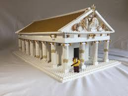 lego ideas greek temple of poseidon