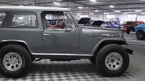 jeep commando custom grey 1969 jeep commando youtube