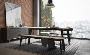 modern furniture boca raton urbano gray concrete dining table sobe furniture