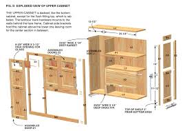 how to build kitchen cabinets free plans 6239