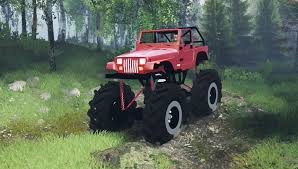 mobil jeep offroad jeep for spintires download for free