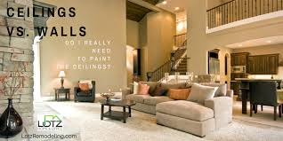 interior wall painting should you paint both your ceilings too