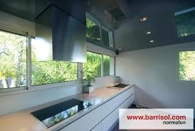 spot plafond cuisine spot plafond cuisine cuisine en plafond brillant et spots intacgracs
