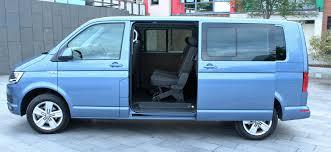volkswagen transporter shuttle caravelle and california rev ie