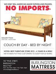 Outdoor Furniture Burlington Vt - futons burlington mattress burlington vermont