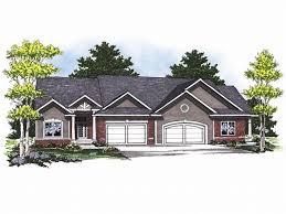 Multi Family House Plans Triplex 40 Best Duplex House Plans Images On Pinterest Duplex House