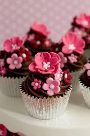 cupcake flowers charming pink flowers cupcakes cupcakes etc flower