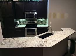 Black Cabinets White Countertops White Galaxy Granite Kitchen Best Kitchen Ideas 2017