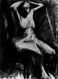 embellished skeleton frank auerbach