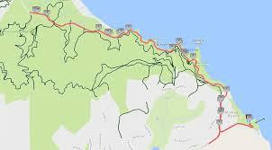 China Camp Trail Map by Course Maps Marin County Triathlon U0026 Duathlon