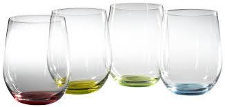 riedel happy o wine tumblers set of 4 wine glasses wine gifted