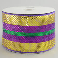 4 inch mesh ribbon mardigrasoutlet