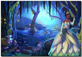 princess frog theme 10 backgrounds