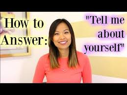 tell about yourself job interview tell me about yourself a good answer to this interview question