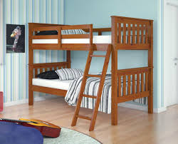 Mission Style Bedroom Furniture Amazon Com Bunk Bed Twin Over Twin Mission Style In Light