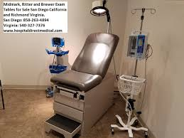 refurbished exam tables for sale refurbished midmark and ritter exam tables used hospital medical