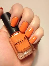 nella milano nail lacquer u2013 chili blaze u2013 painted nails u0026 baking