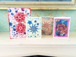christmas arts crafts cards ideas colouricious