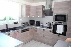 cuisine bois inox impressionnant deco cuisine bois clair avec deco cuisine blanc et