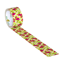 amazon com duck brand 283041 printed duct tape flamingo 1 88