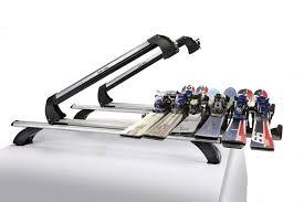 porta sci auto portasci per barre porta sci scorrevole in alluminio