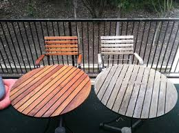 Teak Patio Furniture San Diego by Teak Furniture Care And Maintenance