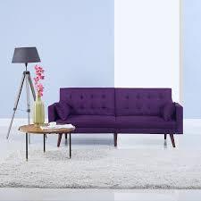 Sofa Mesmerizing Tufted Futon Sofa For Astounding Home Furniture