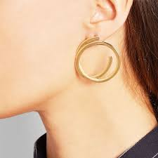 earring pierced the ear piercings that are in and out for 2017 whowhatwear