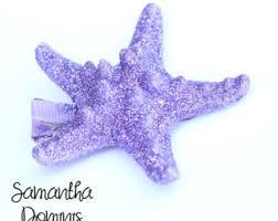 starfish hair clip starfish hair clip etsy